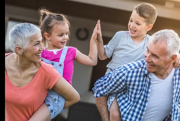 El rol de los abuelos en la educación de los nietos